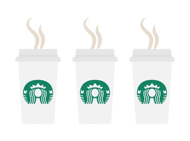 3 cafés mañaneros