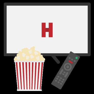 Pago mensual de servicio de películas streaming